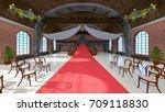 3d cg rendering of the grand... | Shutterstock . vector #709118830