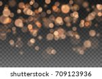 Bokeh Lights Effect Isolated O...