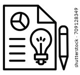 content production vector icon   Shutterstock .eps vector #709128349