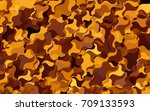 light green  yellow vector... | Shutterstock .eps vector #709133593