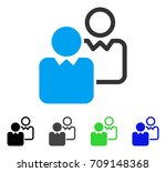 clients vector pictograph.... | Shutterstock .eps vector #709148368
