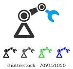 robotics manipulator vector...   Shutterstock .eps vector #709151050