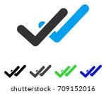 validation vector pictogram....