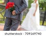 wedding day | Shutterstock . vector #709169740