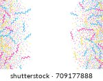 abstract multicolored... | Shutterstock .eps vector #709177888