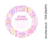 Sewing Equipment  Hand Made...