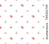 seamless pattern of hand drawn... | Shutterstock .eps vector #709201759