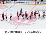 podolsk  russia   september 3 ... | Shutterstock . vector #709225030