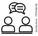 consultant vector icon   Shutterstock .eps vector #709248148
