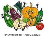 cartoon vector illustration of... | Shutterstock .eps vector #709263028