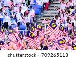 kuala lumpur  malaysia   29... | Shutterstock . vector #709265113