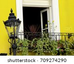 Elegant Yellow House And An Ol...