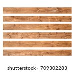 Old Wood Planks Isolated On...