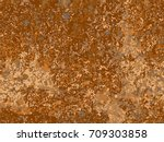 natural rusty texture ... | Shutterstock .eps vector #709303858