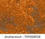 natural rusty texture ... | Shutterstock .eps vector #709308928