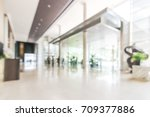 hotel or office building lobby... | Shutterstock . vector #709377886