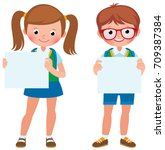 vector cartoon illustration of... | Shutterstock .eps vector #709387384