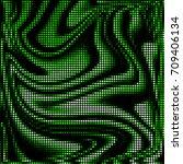 grunge halftone texture...   Shutterstock .eps vector #709406134