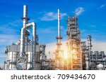 industrial zone the equipment... | Shutterstock . vector #709434670
