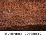 red brick wall texture grunge... | Shutterstock . vector #709458850