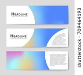 abstract vector layout... | Shutterstock .eps vector #709464193