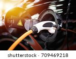 Hybrid Electric Car Charging...
