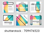 abstract vector layout... | Shutterstock .eps vector #709476523
