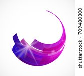 colorful abstract vector... | Shutterstock .eps vector #709480300
