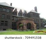 historic james hill house on... | Shutterstock . vector #709491538