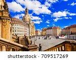 travel in germany   elegant... | Shutterstock . vector #709517269