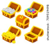 Treasure Chests For Game. Dowe...