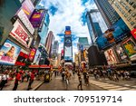 new york city   june 14  2017 ... | Shutterstock . vector #709519714