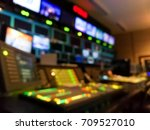 blur image video switch of... | Shutterstock . vector #709527010