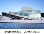 oslo  norway   august 2  2015 ... | Shutterstock . vector #709543018