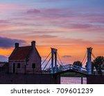 sunset | Shutterstock . vector #709601239