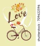 love card | Shutterstock .eps vector #709622596
