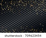 abstract background with flying ... | Shutterstock .eps vector #709623454