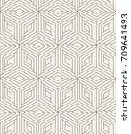 vector seamless pattern. modern ...   Shutterstock .eps vector #709641493