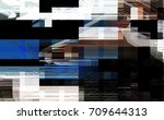 modern background with dead... | Shutterstock . vector #709644313