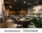 Interior Of Cozy Restaurant....