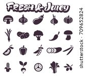 images of juicy fresh... | Shutterstock .eps vector #709652824