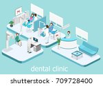 isometric 3d isolated concept... | Shutterstock .eps vector #709728400