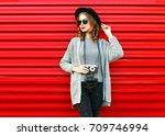 fashion autumn portrait woman