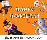 murder of terror done on the...   Shutterstock .eps vector #709747009