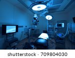 equipment and medical devices... | Shutterstock . vector #709804030