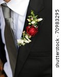 buttonhole groom | Shutterstock . vector #70983295