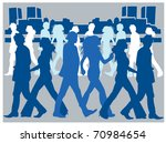business people | Shutterstock .eps vector #70984654