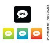 colorful sms icons