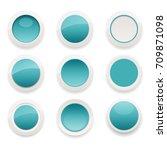 vector illustration of glossy... | Shutterstock .eps vector #709871098