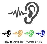 hearing signal vector...   Shutterstock .eps vector #709886443